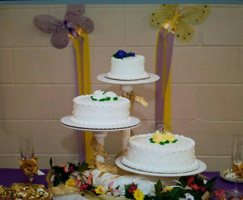 cake 50th wedding anniversary cakemade by sams club