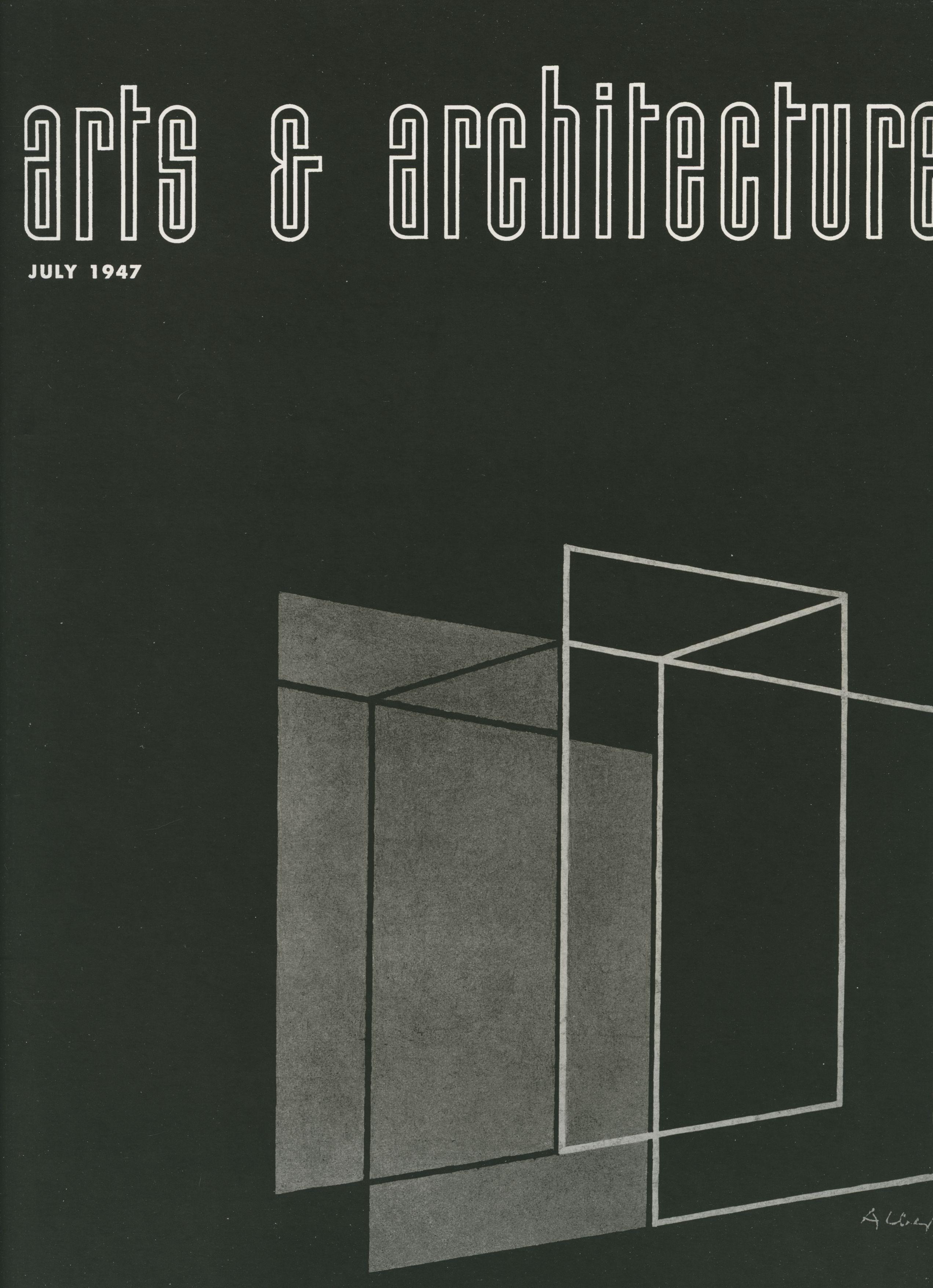 Arts U0026 Architecture Magazine Cover 1947