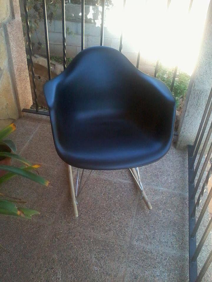 Esta original silla, es de Alicia Mercadal, que ganó con uno de los primeros sorteos de IconsCorner. ¡Es genial y parece super cómoda!