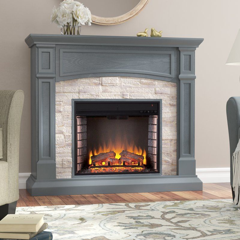 Alcott Hill Oshiro Electric Fireplace Reviews Wayfair With