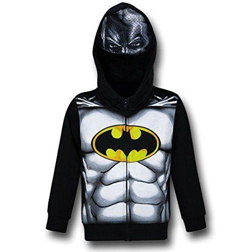 DC Comics Batman Boys Full Zip Boys M... $31.99