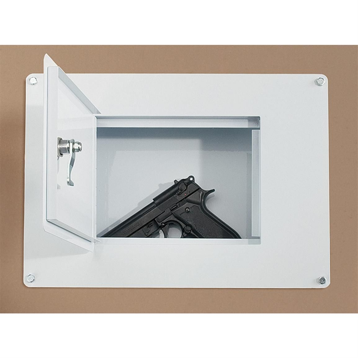 Homak Between the Studs Wall Safe | Wall safe, Guns and Craft