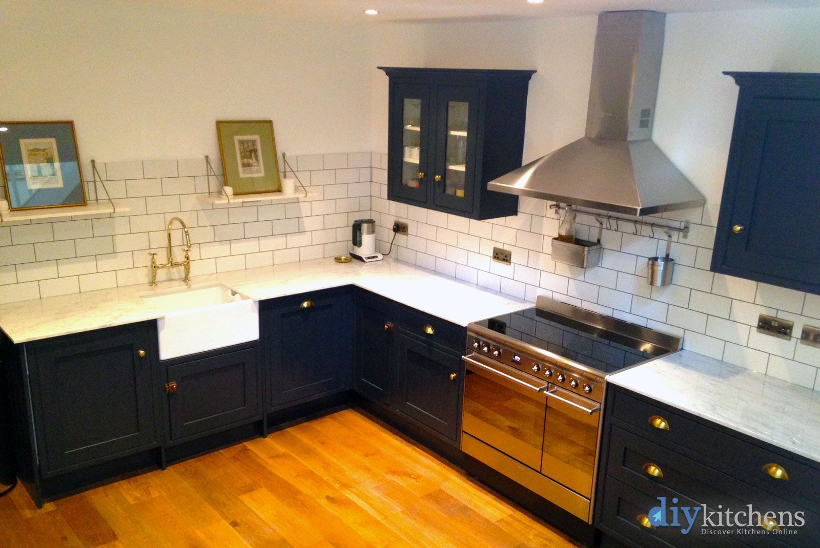 Image result for HELMSLEY BESPOKE PAINTED kitchen
