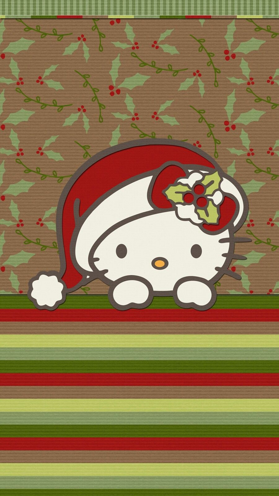 Christmas wallpaper iphone android happy holiday hellokitty hello kitty christmas christmas wallpaper iphone android happy holiday hellokitty voltagebd Image collections