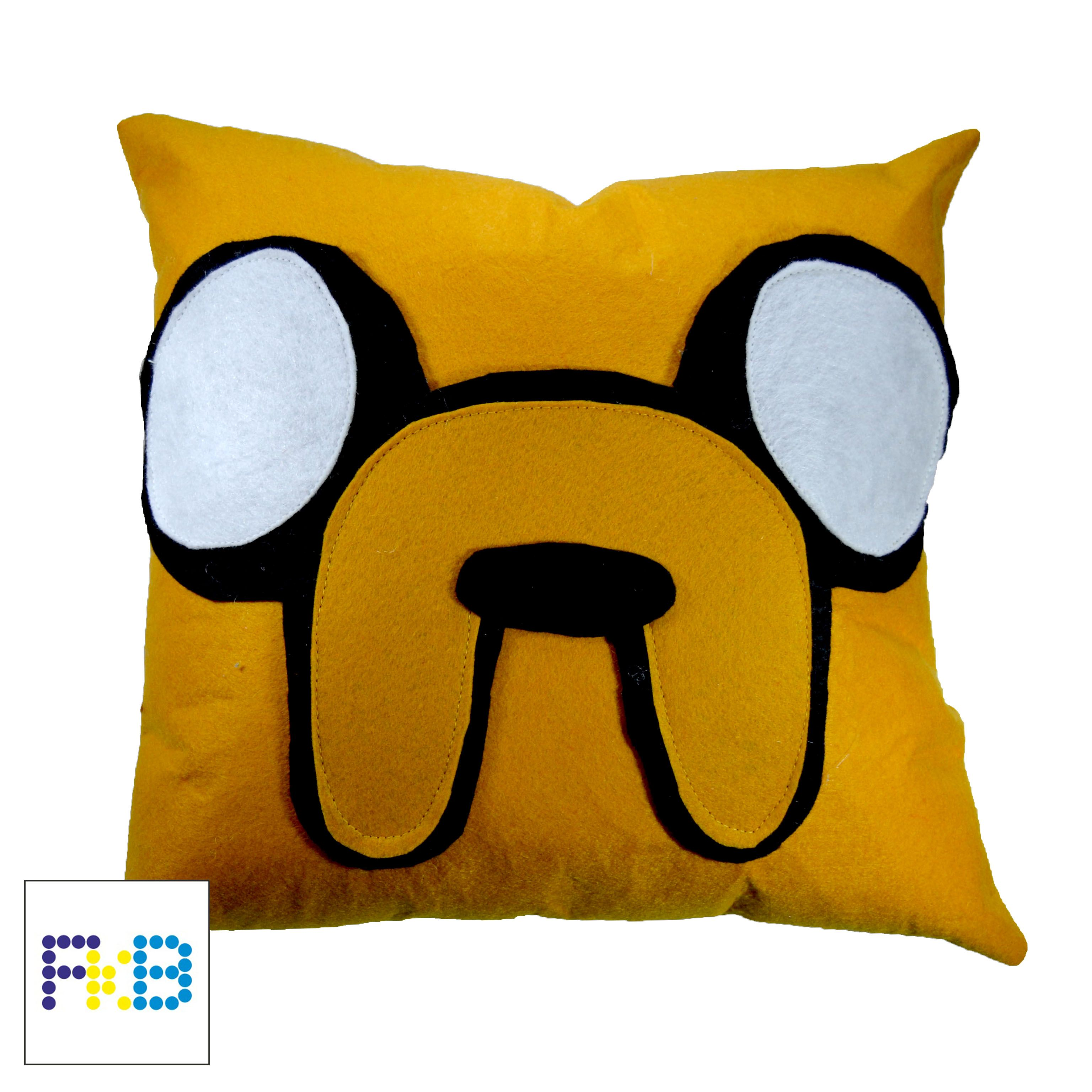 Handmade Adventure time Jake pillow  #frikibeads #pillow #cojin #almohada #jake #adventuretime # horadeaventuras