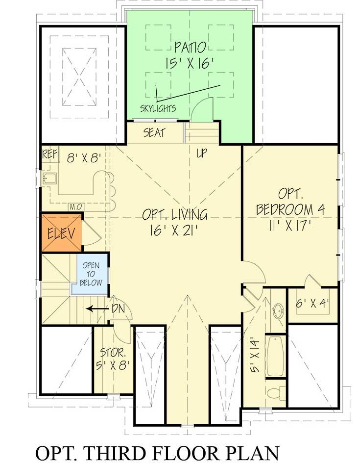 Plan 12295jl Upscale Three Story Traditional House Plan
