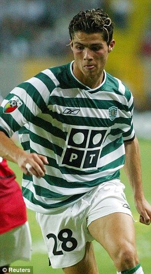 5ea06d3fddb Road to stardom  Cristiano Ronaldo stared his career as Sporting Lisbon