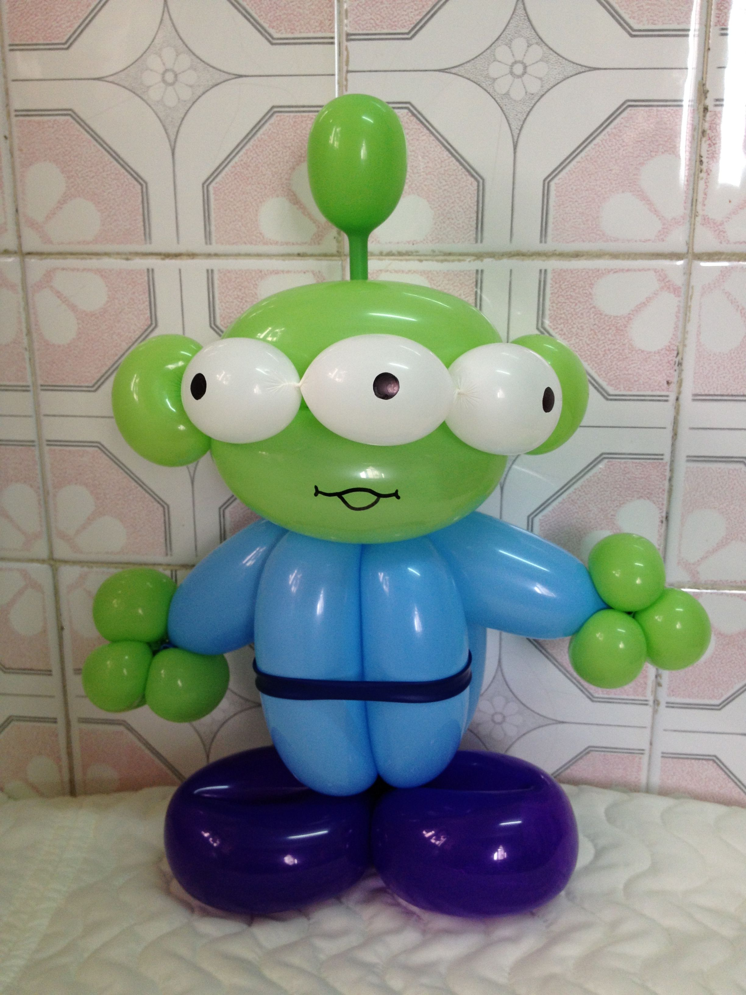 Balloon Little Green Man
