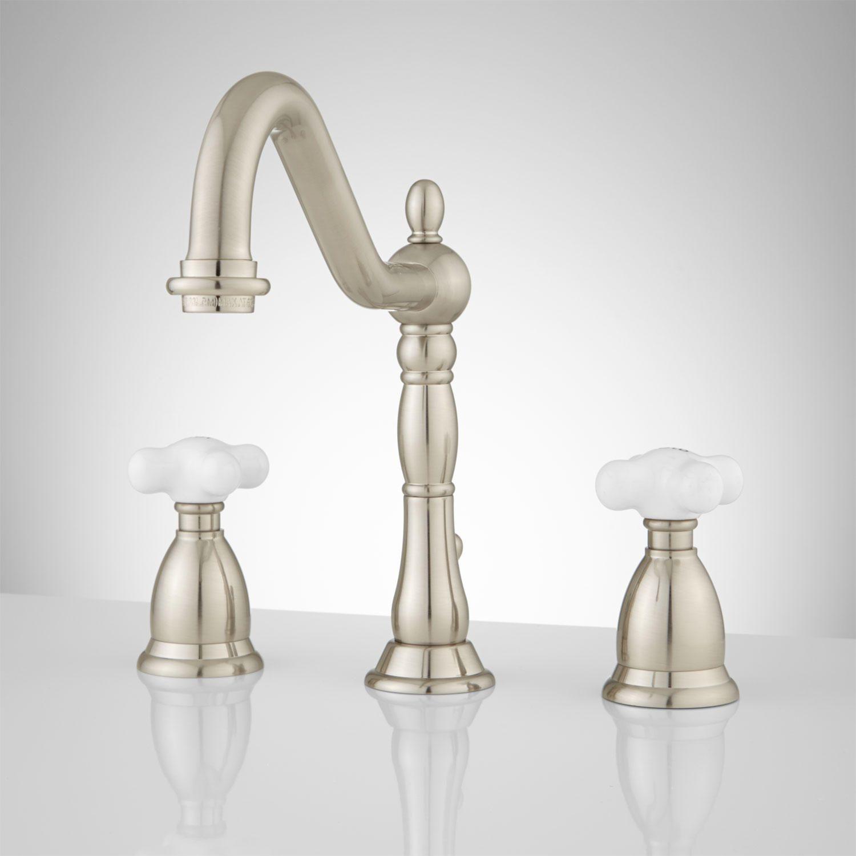 Victorian Gooseneck Bathroom Faucet