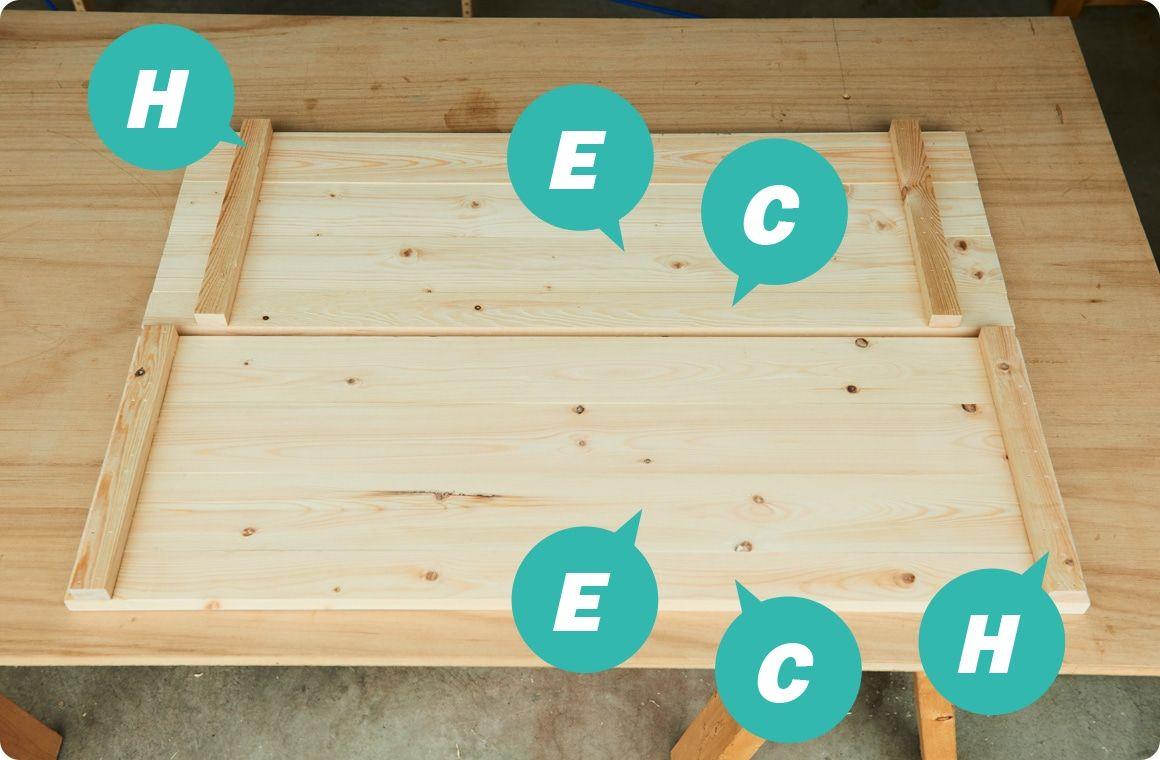 作り方 キャンプギアをdiy 変幻自在に使える木製キッチンテーブル Hondaキャンプ キッチンテーブル キャンプ テーブル Diy テーブル