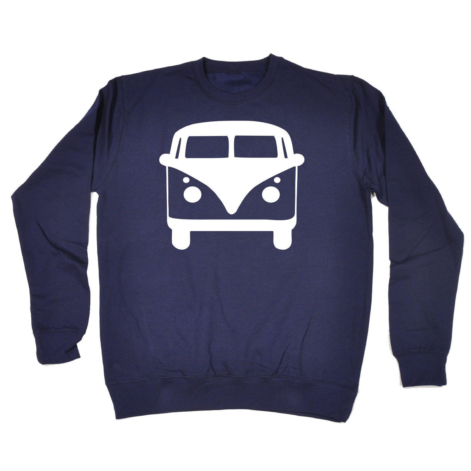 123t USA Camper Van Funny Sweatshirt