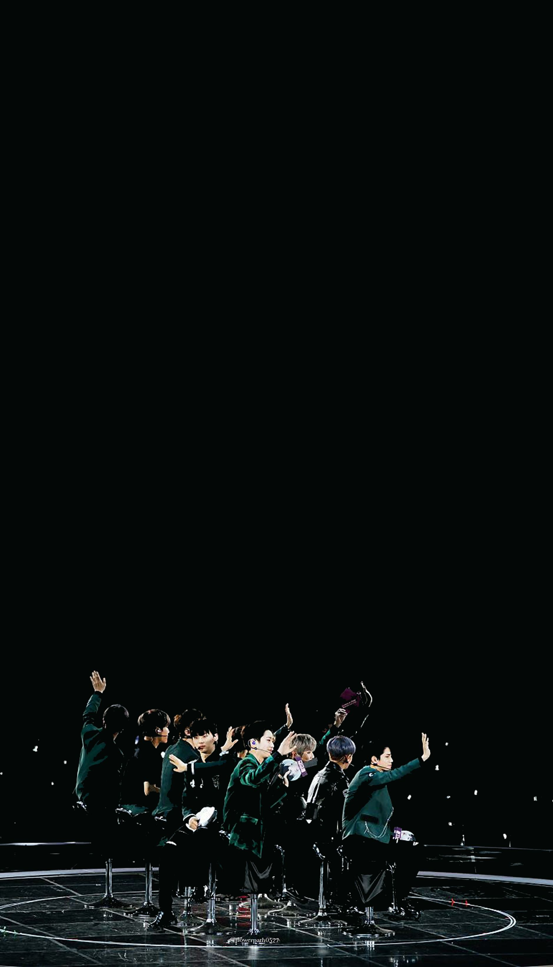 wanna one 1-1=0 (nothing without you) premier fancon wallpaper