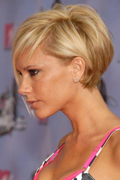 Victoria Beckham Von Long Bob Bis Pixie Cut Kapsels Dünnes Haar
