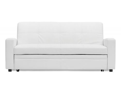 Structube - Living room : Sofa-beds : Allan (White)