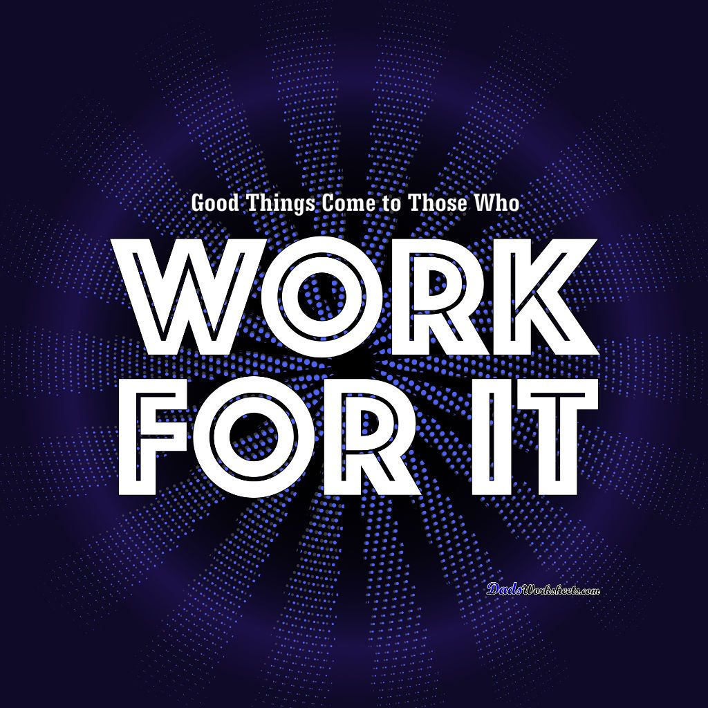 Fresh Ideas - Work for It! Like this design? Click through and get it on