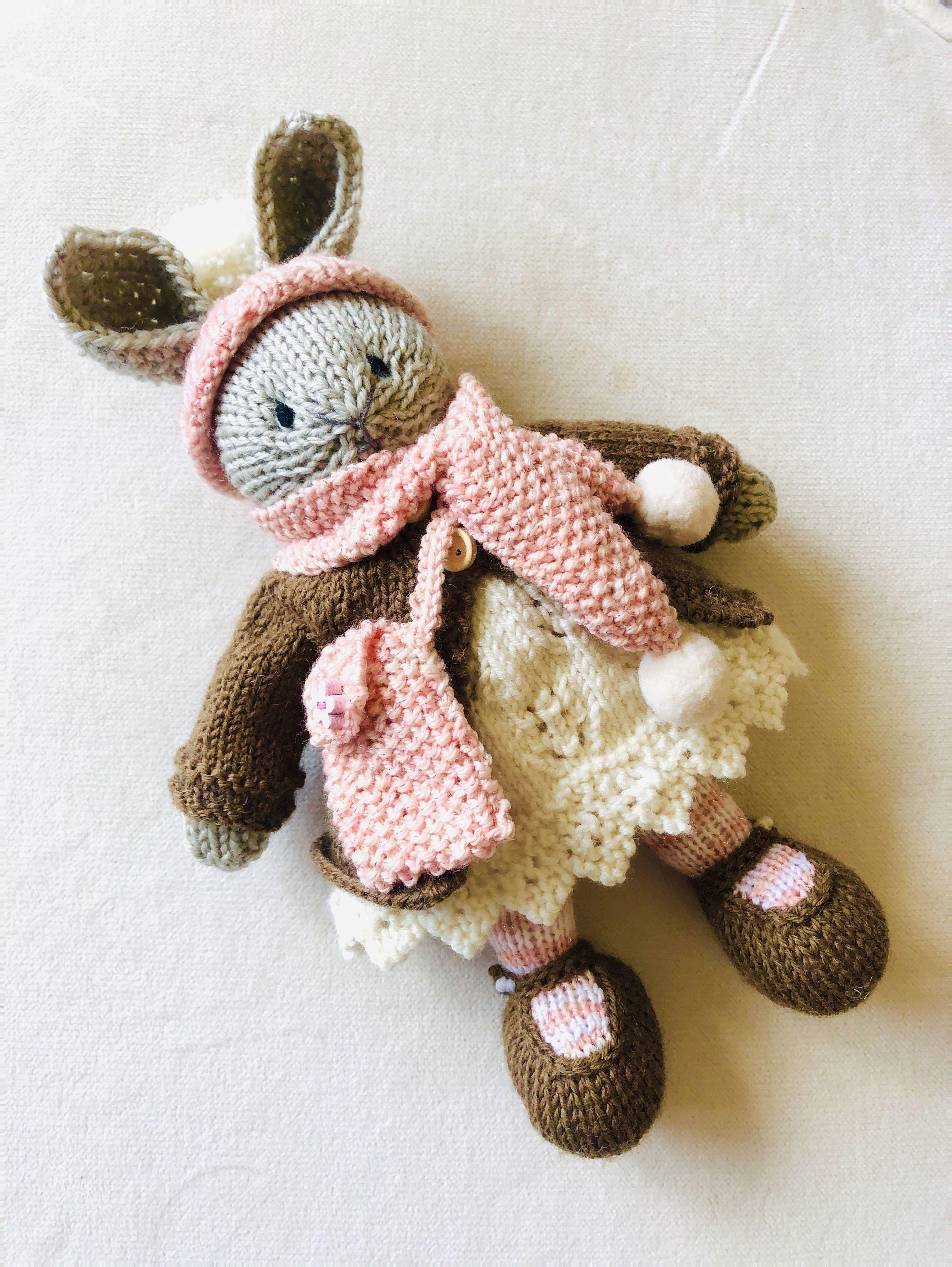 knitting for babies little cotton rabbits Effektive Bilder, die ...