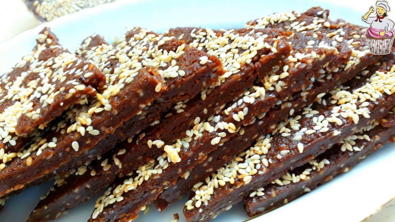 حلاوة السمسم بالطحينة Desserts Food Yams