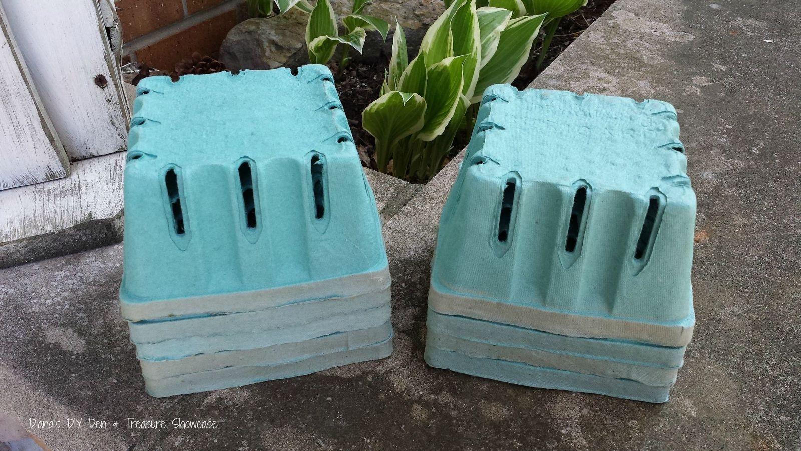 Concrete Dipped Berry Box Planters Smart Ideas Diy 640 x 480