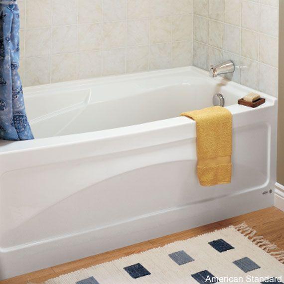 8 Soaker Tubs Designed For Small Bathrooms | Large tub, Soaker tub ...