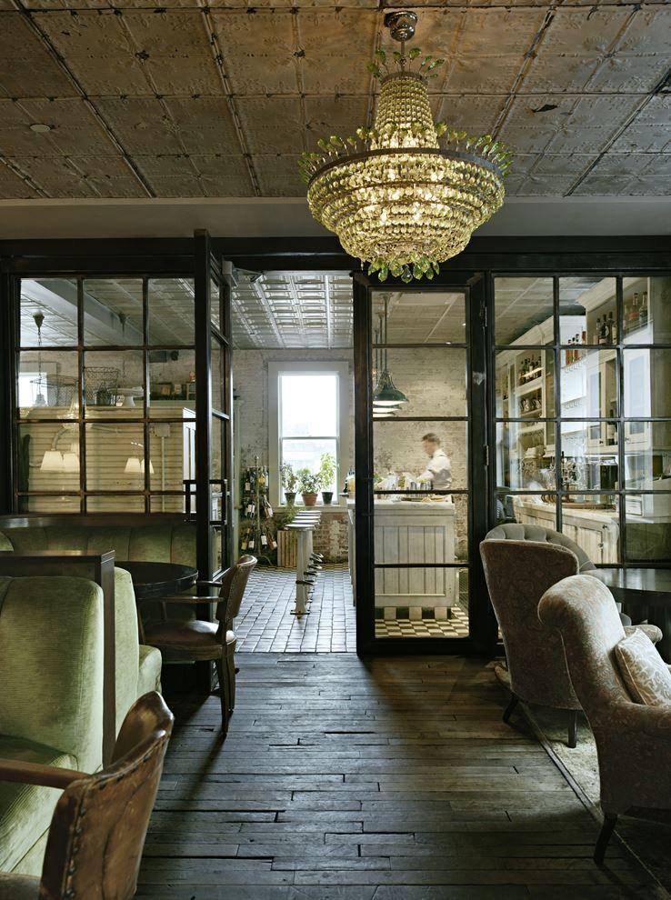 soho york farmhouse hotel chic nyc rustic shabby ny manhattan kitchen decor interiors modern lobby interior pool restaurant hotels floors