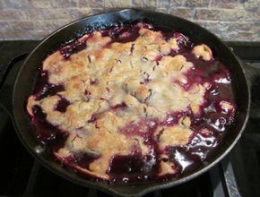 new cooking recipes: Homemade Blackberry Cobbler