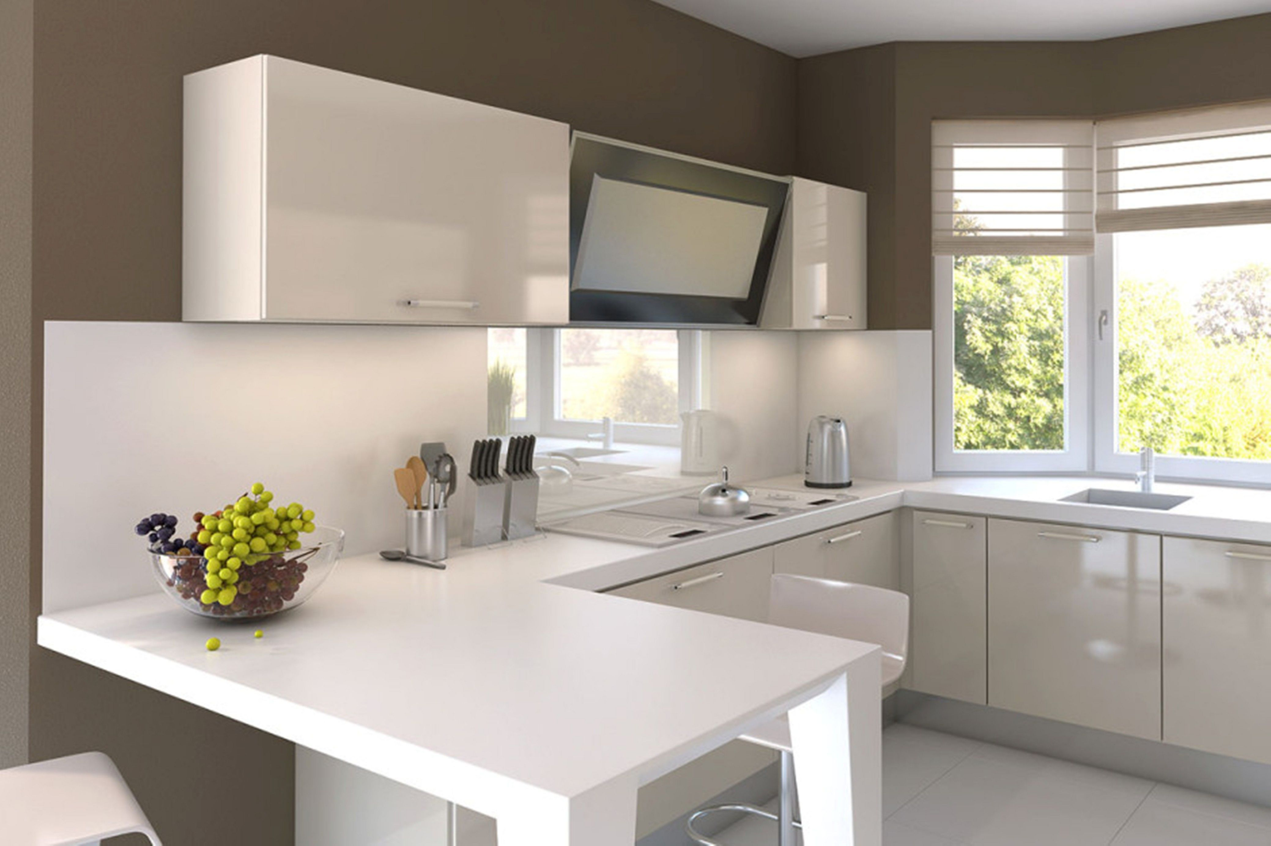 42 Best Renovation Ideas For Your Small Modern Kitchen On A Budget Decor It S Kitchen Design Small White Modern Kitchen Small Modern Kitchens
