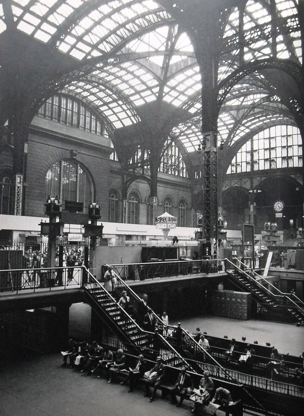 New York City Urban Garden: New York City 1960's, Pennsylvania Station.