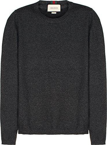 fb6ad7001d0d5 GUCCI Gucci Men S 408131X42041165 Grey Cashmere Sweater.  gucci  cloth