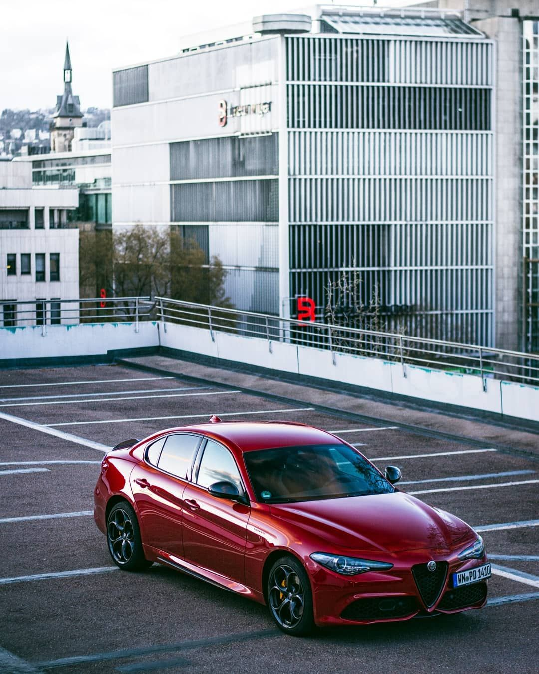 """Alfattitude® on Instagram: """"Our favourite Giulia at the moment, this  beautiful Veloce TI in Ro… 