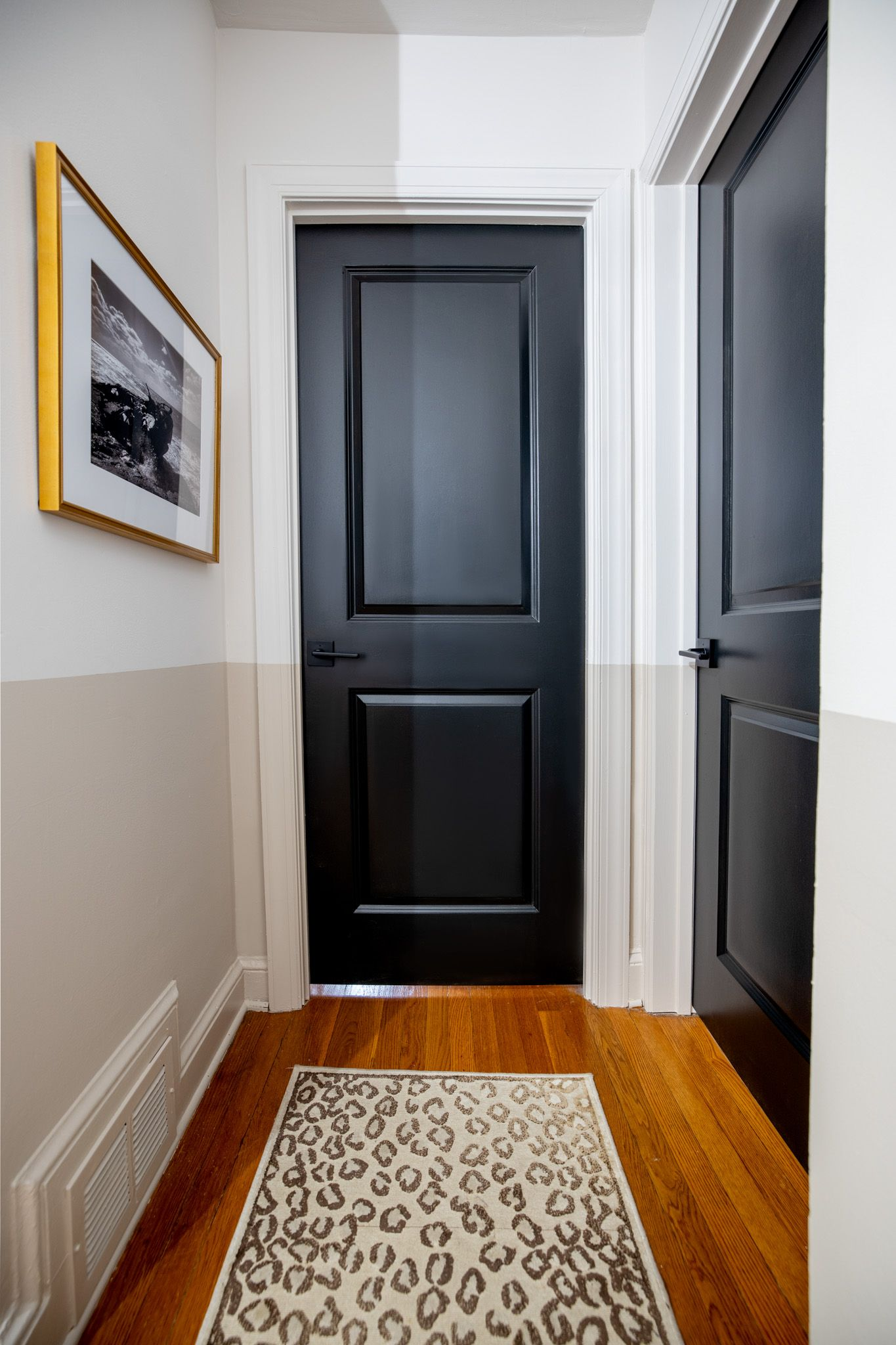 Color Block Hallway with the BEHR® Color Trends 2021 Palette   Behr color trends, Behr colors ...