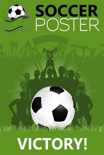 Trendy Sport Poster Vector Football Players Ideas #sport