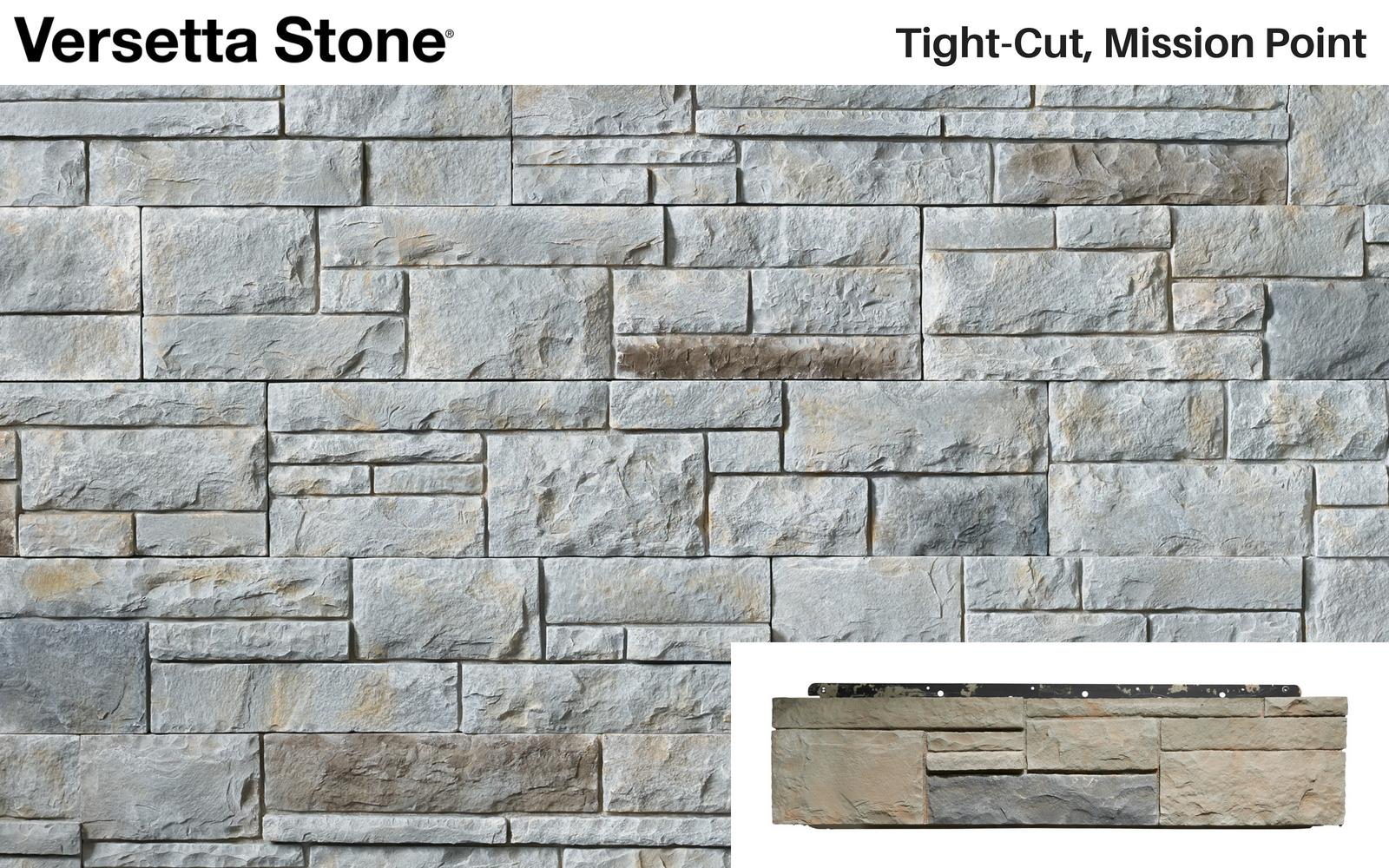 Versetta Stone® - Tight-Cut, Mission Point  Versetta Stone