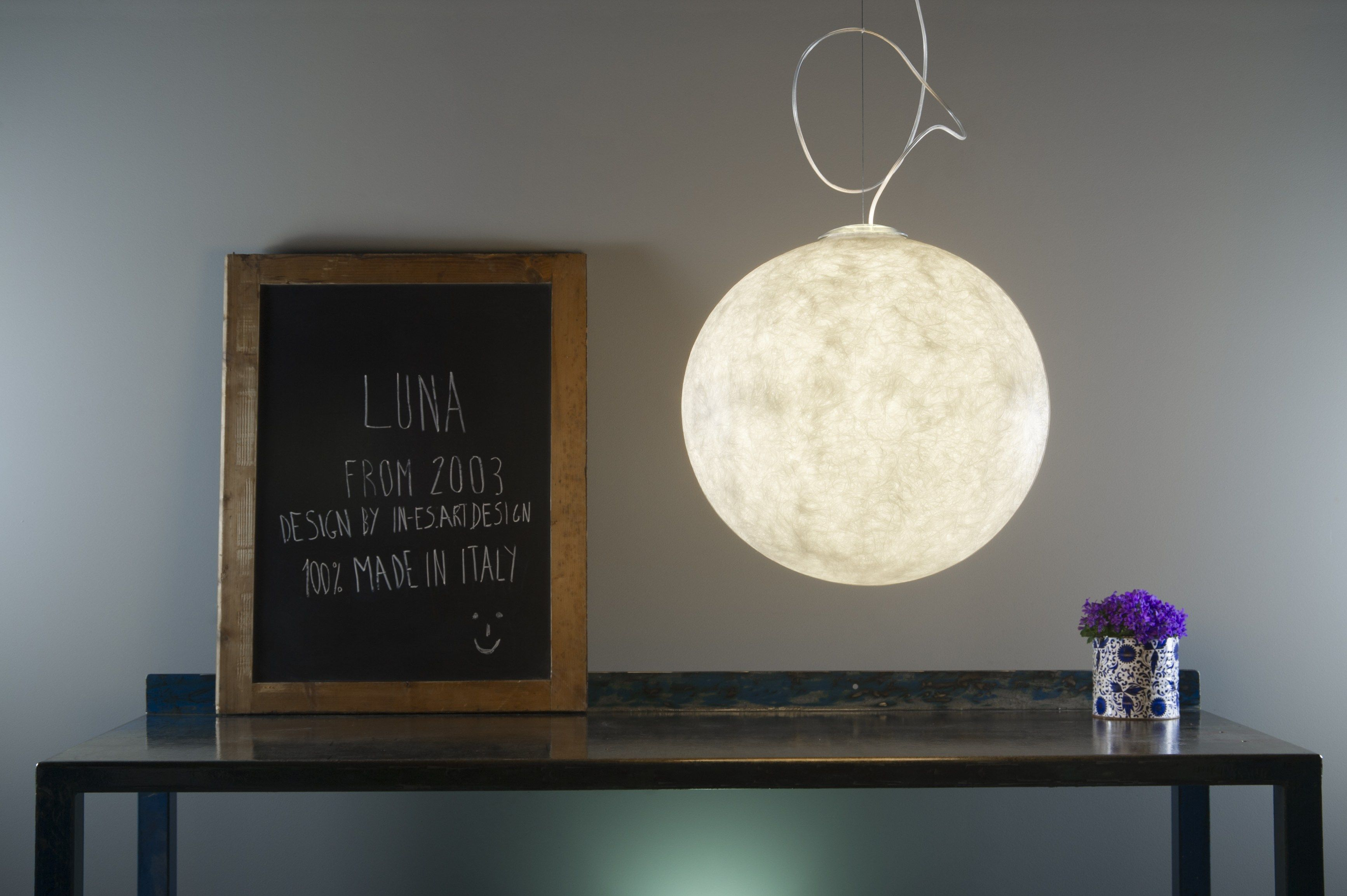 LUNA Pendant lamp by In-es.artdesign