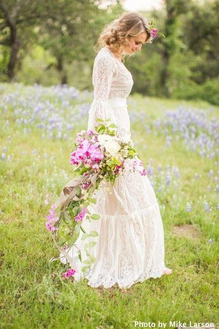 flowers, fabrics, & embellishing touches