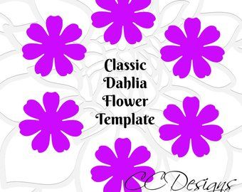 Paper Flower Rolled Rosette Templates Printable Pdf Rolled Rosettes