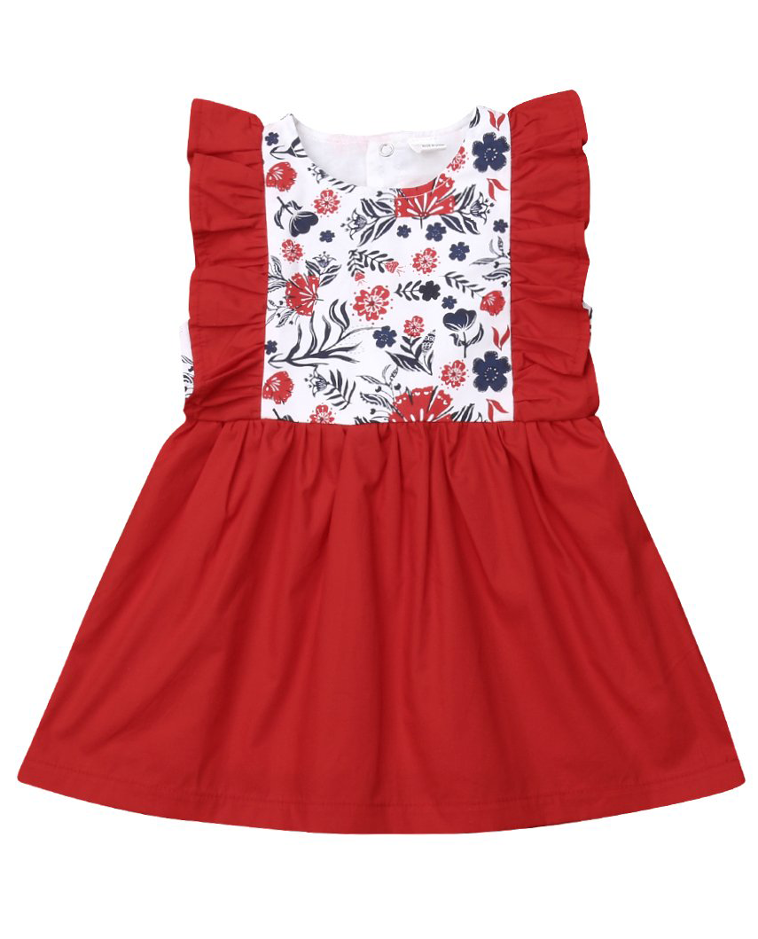3aa481023c2b Red Floral Dress