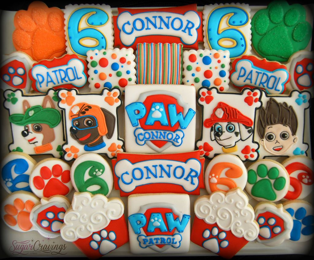 Paw Patrol for Connor's 6th birthday!