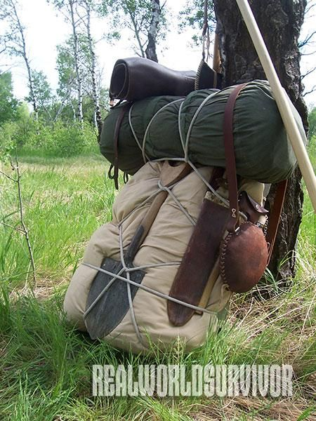 7d91512c34334 DIY: Build the Ultimate Trapper Nelson Pack | American Frontiersman  Magazine | Hunting packs, Bushcraft camping, Camping survival