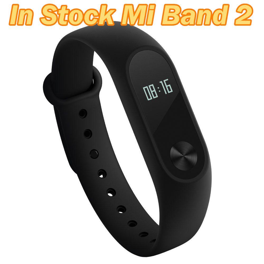 In Stock Original Xiaomi Mi Band 2 Miband Band2 Wristband Bracelet Smart Heart Rate Fitness Tracker Touc Heart Rate Bracelet Fitness Wristband Fitness Bracelet