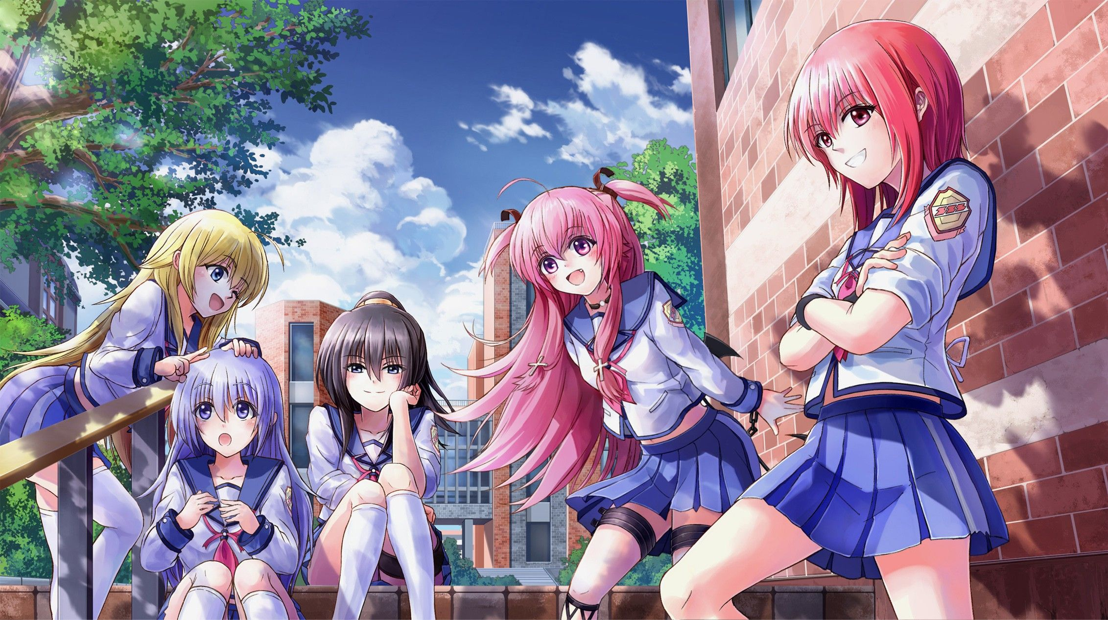 Masami Iwasawa,Yui,Girls Dead Monster - Angel Beats ...