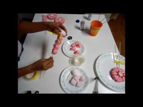 Dulces en masmelos detalles para fiestas bomboneras - Manualidades para adultos ...