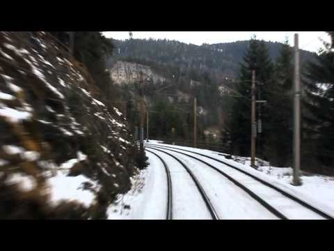 Winter Wonderland - Cabride on Austrian Semmering Railway | Führerstands...