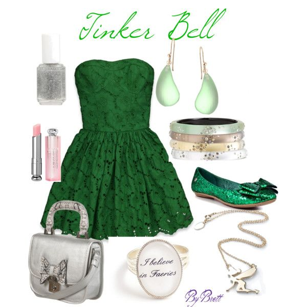 Tinker Bell Summer, created by dancngbrett on Polyvore