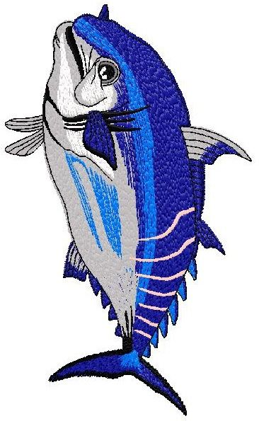 Fish Embroidery Design 038 Nanees Embroidery Designs Pinterest