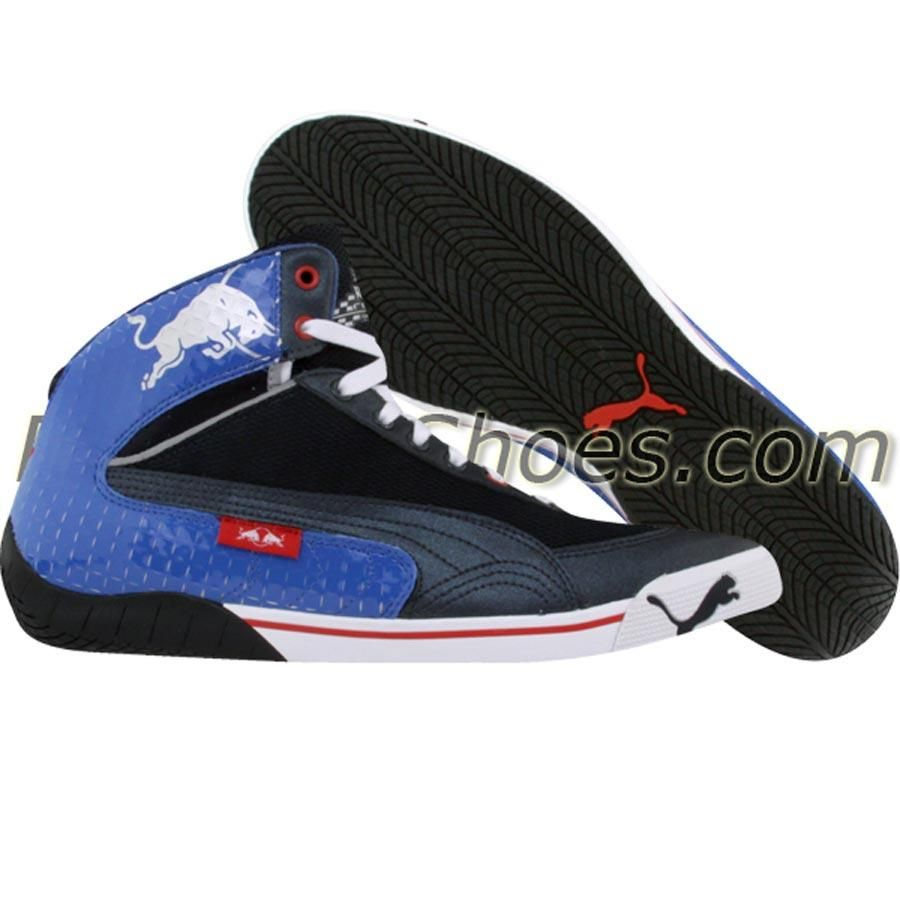 c400b990c Puma Racing Speed Cat 2.9 Mid - Red Bull Racing (blue   strong blue    chinese red) Shoes 302848-01