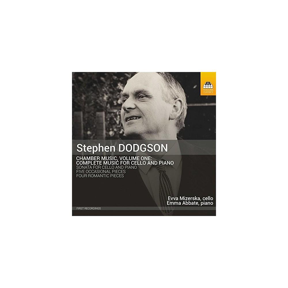 Dodgson & Mizerska & Abbate - Dodgson: Complete Music for Cello & Piano (CD)