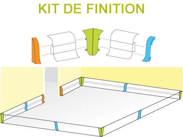 plinthe cache fil et embouts de finition id es pour la maison. Black Bedroom Furniture Sets. Home Design Ideas