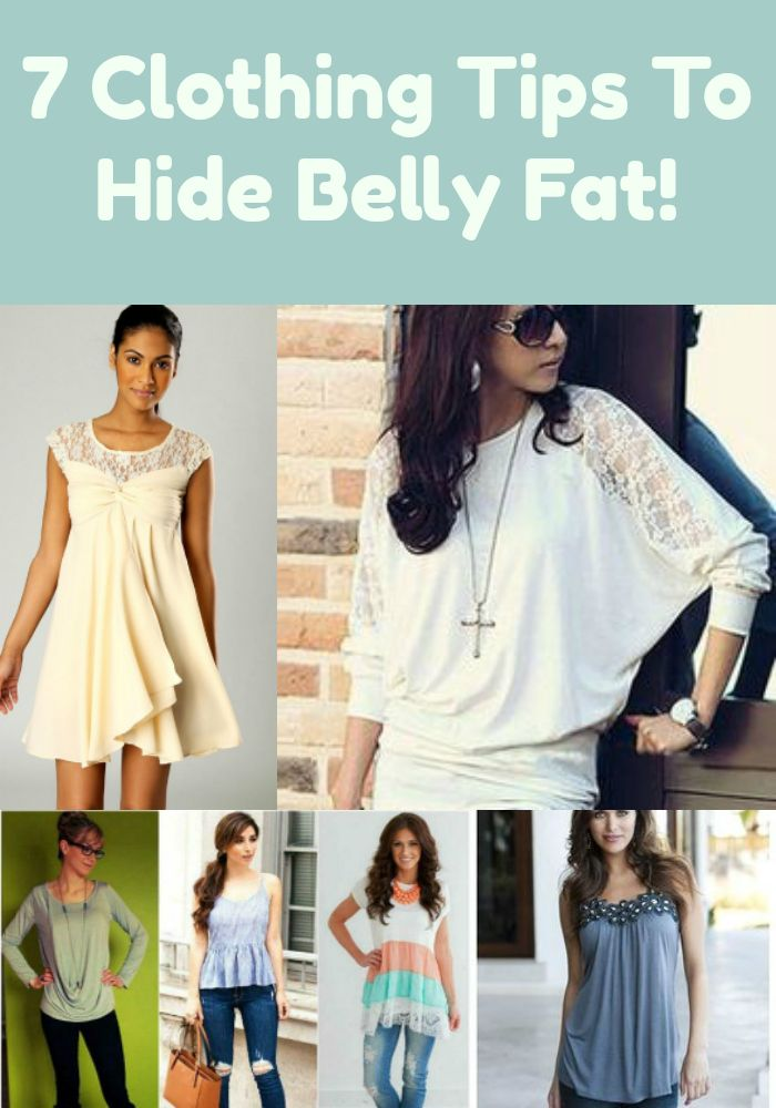 463f3fa514 Try These Shirt or Dresses Tips To Hide Belly Fat.
