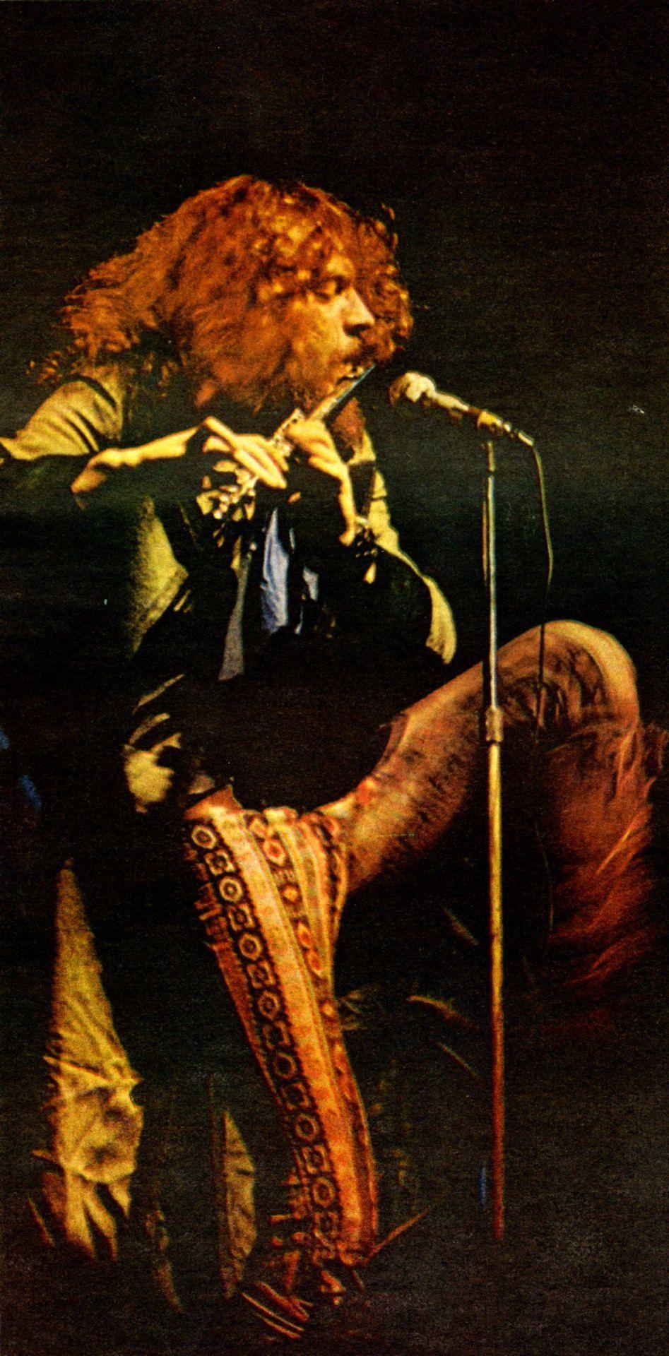 Ian Anderson Famous Musicians Jethro Tull Progressive Rock