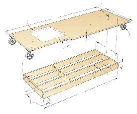 Torsion Box Table Saw Extension